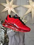 Мужские кроссовки Air Max AM98720 (красные) - термо, фото 8
