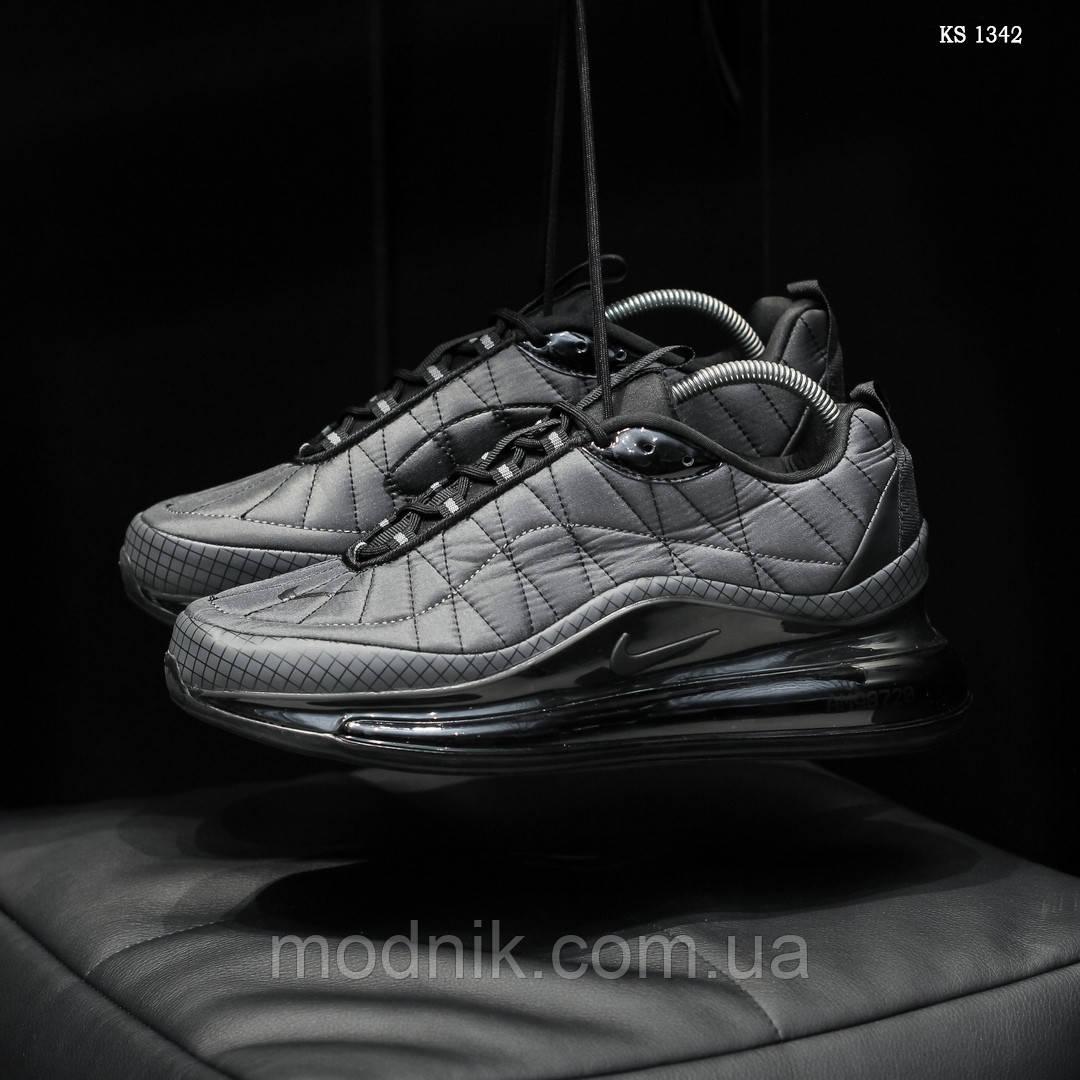 Мужские кроссовки Air Max AM98720 (серые) - термо