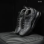 Мужские кроссовки Air Max AM98720 (серые) - термо, фото 4