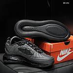 Мужские кроссовки Air Max AM98720 (серые) - термо, фото 6