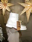 Женские зимние ботинки Dr. Martens (белые), фото 3