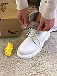 Женские зимние ботинки Dr. Martens (белые), фото 5
