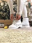 Женские зимние ботинки Dr. Martens (белые), фото 7