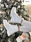 Женские зимние ботинки Dr. Martens (белые), фото 8