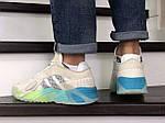 Мужские кроссовки Adidas Streetball (бежевые), фото 3