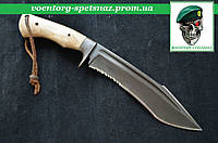 """Нож фултанг """"Крук - Серрейтор""""  ручная работа"""