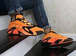 Мужские кроссовки Adidas Streetball (оранжевые), фото 2