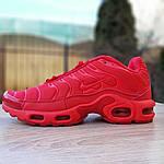 Мужские кроссовки Nike TN Plus (красные), фото 3