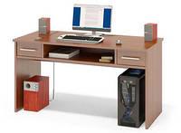 """Стол компьютерный """"Тед-118"""", прямой, с удлиненной столешницей"""