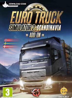 Euro Truck Simulator 2 - Scandinavia DLC (PC) Электронный ключ