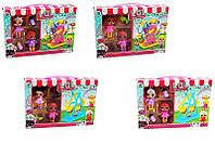 Кукла POO, 10см, лизун (сделай сам), домик-сумочка14см, микс вид на листе, 29,5-30,5-7см
