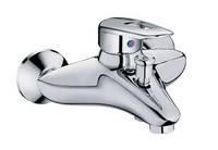 Смеситель для ванны короткий гусак Haiba Disk 009