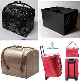 Кейс сумка кожзам бьюти чемодан
