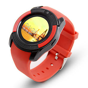 Смарт-часы UWatch V8 RED часофон
