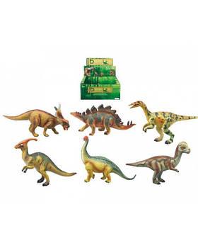 Животные Q9899-314/319 2 вида, динозавр, в боксе 27*19*11см /цена за бокс/