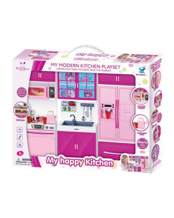 Мебель 66042-2 кухня, звук, свет, в кор. 44,6*34,6*8,5 см