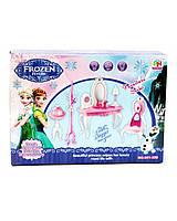 """Мебель """"Frozen"""" 901-359 туалетный столик,стул,вешалка,в кор. 26*6*19см"""