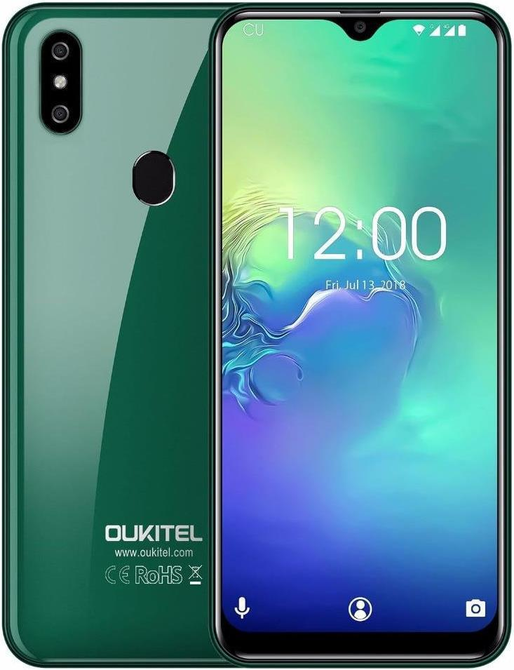 Oukitel C15 Pro Plus | Зелёный | 3/32Гб | 4G/LTE | Гарантия