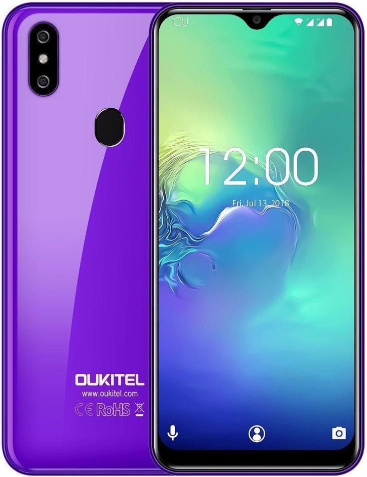 Oukitel C15 Pro Plus   Фіолетовий   3/32Гб   4G/LTE   Гарантія