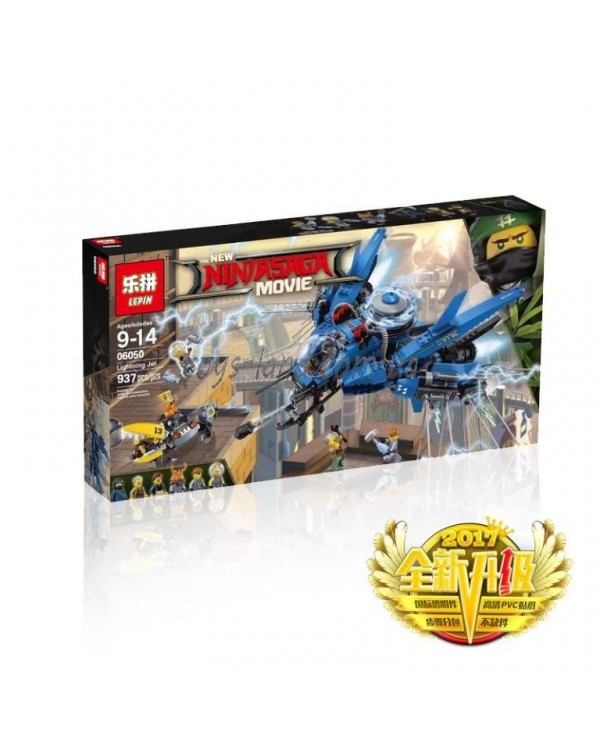 Конструктор LEPIN NINJA MOVIE 06050 937дет, в собр.кор