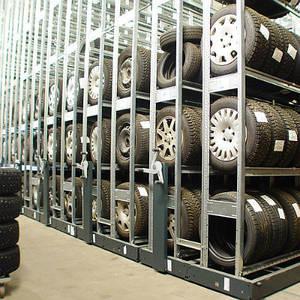 сезонное  хранение шин и колёс