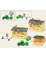 "Набор ""FARM WORLD"" 0407AB трактор, с аксесс., в коробке 24*20*12см"