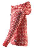 Флисовая кофта для девочки Reima Northern 536461-3227. Размеры 104 - 164., фото 4