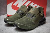 Кроссовки мужские 14082, Nike Air Max, зеленые ( размер 45 - 28,5см )