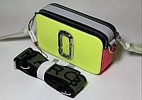 Сумка Marc Jacobs Snapshot usa 100% original QR Код (цвет лайм)