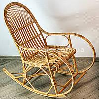 Кресло - качалка из лозы К-10 (бесплатная доставка), фото 1