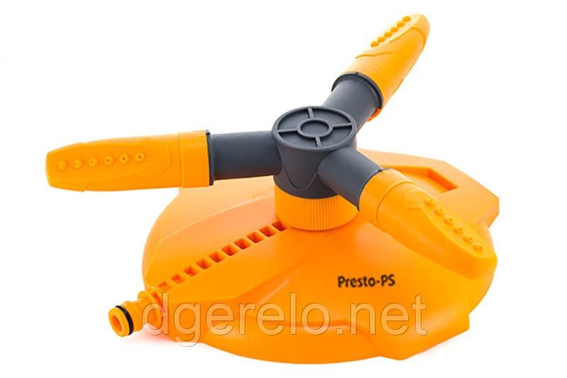 Дождеватель Presto-PS ороситель круговой Ястреб (8113)