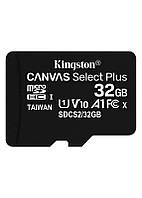Карта памяти MicroSDHC 32GB UHS-I Class 10 Kingston Canvas Select Plus R100MB/s (SDCS2/32GBSP)