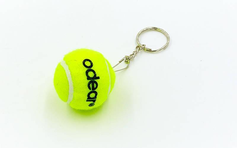 Брелок Теннисный мяч (1уп.-10шт., цена за 1шт) PZ-BT-5509