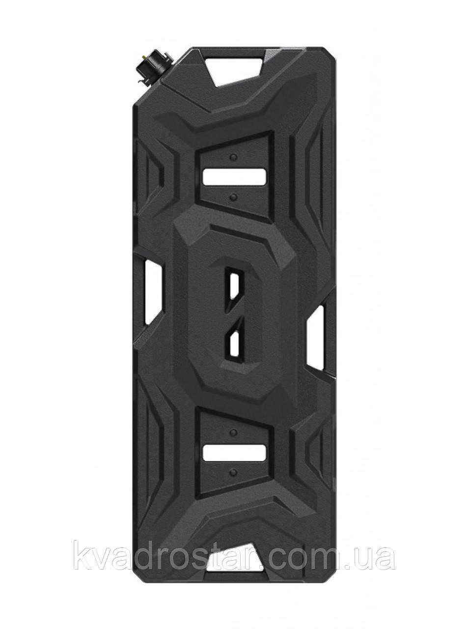 Канистра Tesseract экспедиционная 20л, цвет черный для квадроцикла или внедорожника