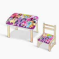Столик-пенал для творчества Литл Пони - 223688