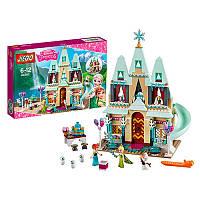 Конструктор для девочки - Большой замок в стиле Фроузен (Frozen) Холодное сердце, Эльза и Анна, JG303