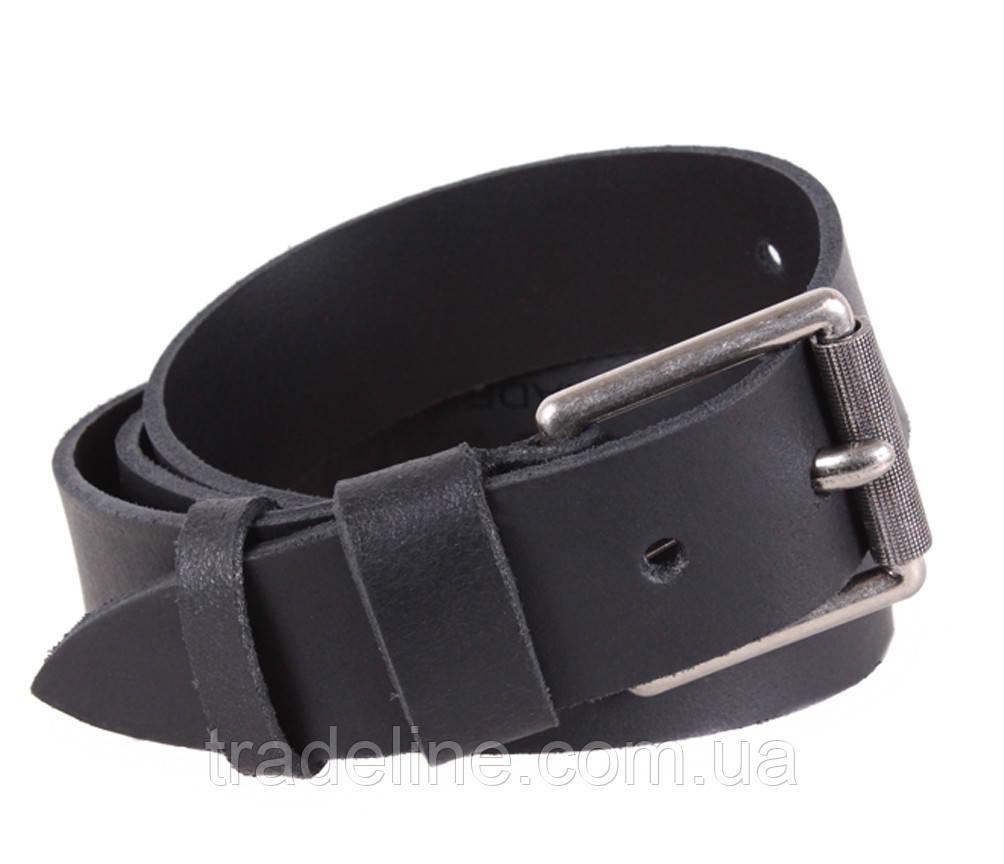 Мужской кожаный ремень Dovhani SP999-23497 120 см Черный