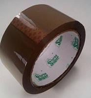 """Скотч пакувальний прозорий 48мм\ 60м\45мк коричневий """"Супер Торба""""(10,4\1,04) (6 шт)"""