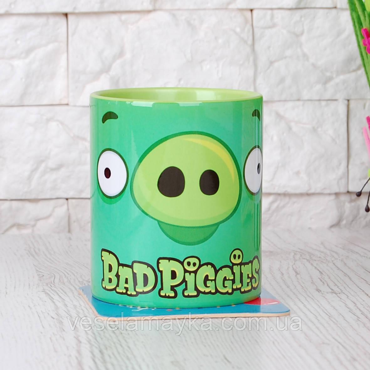Чашка Bad Piggies 2