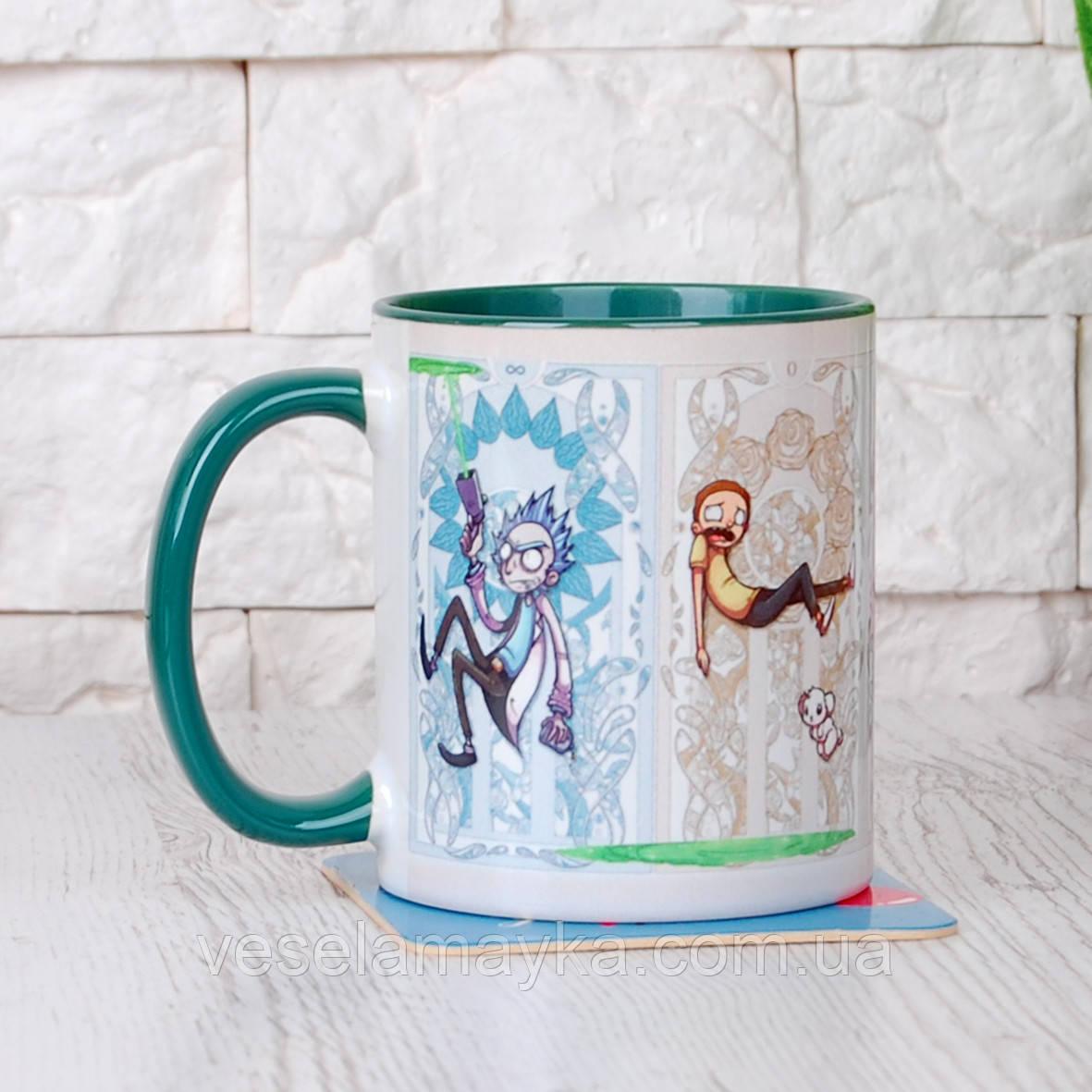 Чашка Rick and Morty 6 (Рік і Морті)