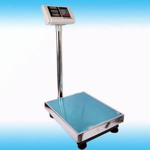 Электронные торговые весы до 100 кг 30*40 см, платформенные торговые весы 100 кг