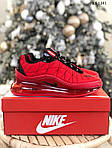 Мужские кроссовки Air Max AM98720 (красные) - термо, фото 9