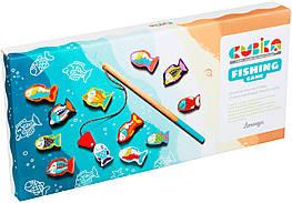 13739 Деревянная игрушка Cubika Рыбалка