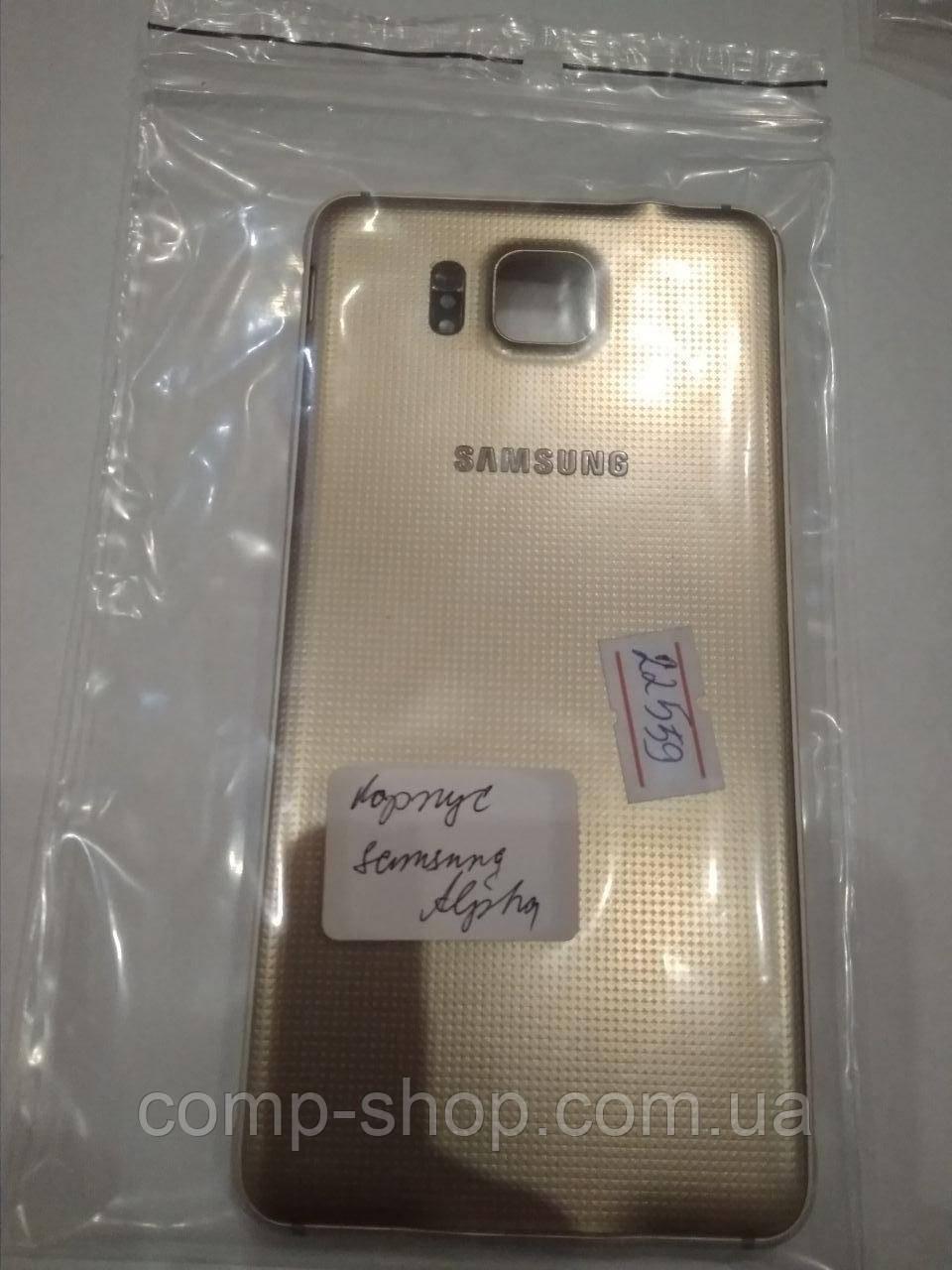 Корпус Samsung Alpha оригинал бу, запчасть с разборки