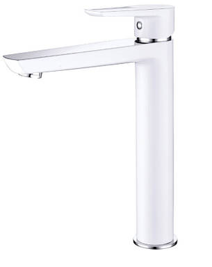 Смеситель для раковины высокий (белый) BRECLAV IMPRESE 05245WH, фото 2