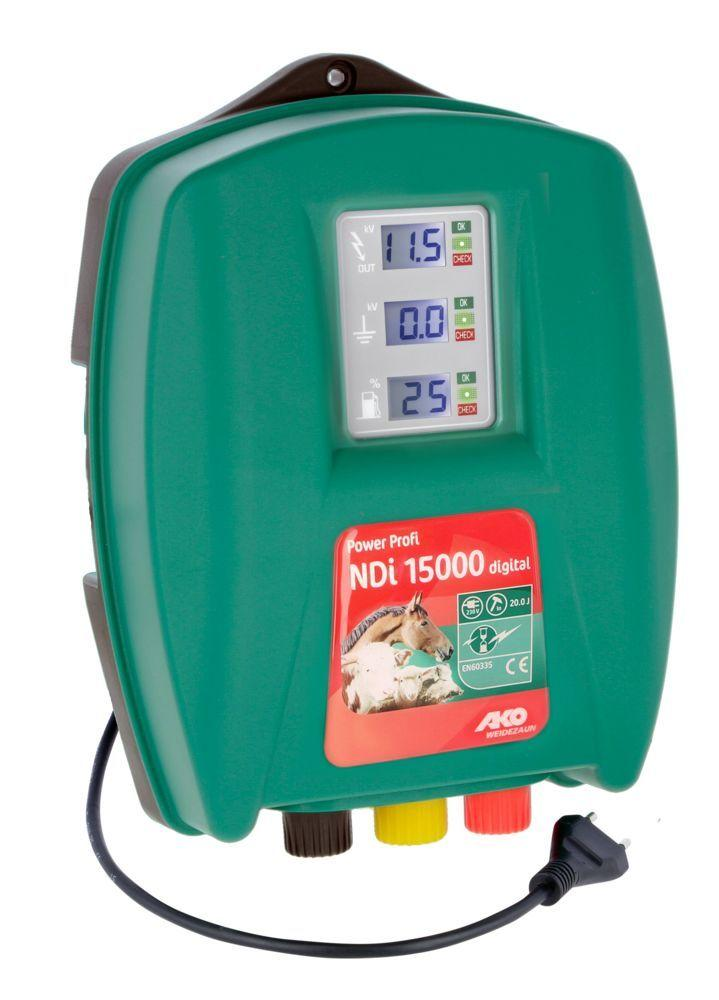 Электропастух AKO Power Profi NDI 15000, 14.5 Дж (для медведя и других крупных диких животных)