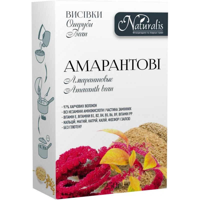 Отруби амарантовые 250 г,  Натуралис