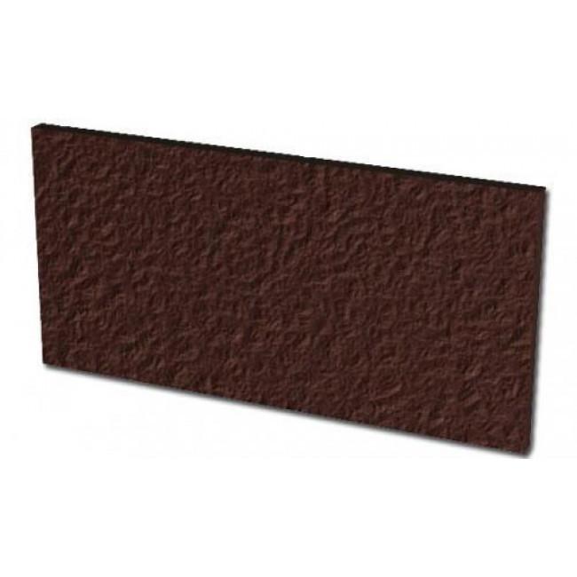 Плитка для ступени клинкерная Paradyz Natural Brown Duro podstopnicowe 14,8 x 30 x 1,1