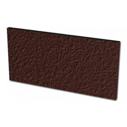 Плитка для ступени клинкерная Paradyz Natural Brown Duro podstopnicowe 14,8 x 30 x 1,1, фото 2