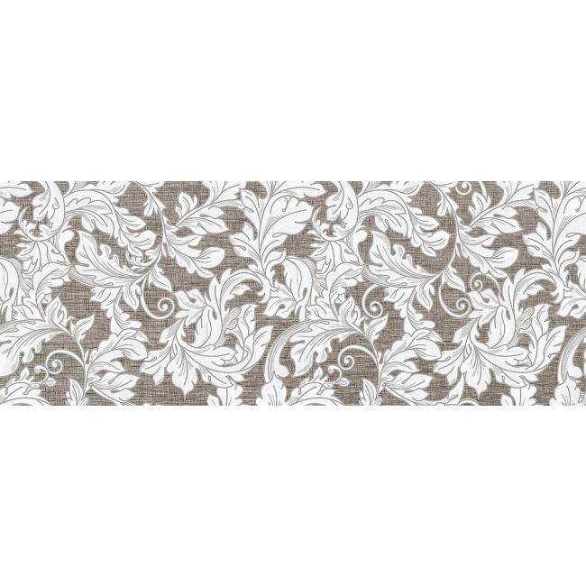 Плитка облицовочная InterCerama Lurex стена коричневая темная рисунок / 2360 188 032-1